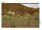 Painted Hills White Wildflowers Carry-all Pouch