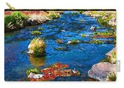 Painted Hot Creek Springs Carry-all Pouch