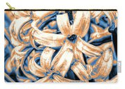Painted Hyacinth Carry-all Pouch by William Havle