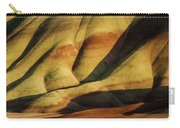 Painted In Gold Carry-all Pouch