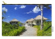 Painted Island Pathway Carry-all Pouch