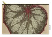 Painted Leaf Begonia Carry-all Pouch