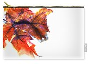 Painted Leaf Series 1 Carry-all Pouch