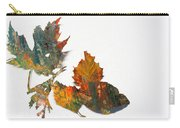 Painted Leaves Abstract 1 Carry-all Pouch