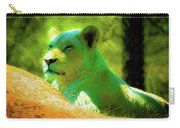 Painted Lion Carry-all Pouch