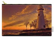 Painted Marblehead Lighthouse Carry-all Pouch
