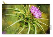 Painted Milk Thistle Carry-all Pouch