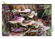 Painted Mushrooms Carry-all Pouch