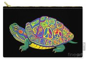Painted Peace Turtle Too Carry-all Pouch