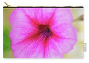 Painted Petunia 344 Carry-all Pouch