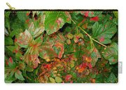 Painted Plants Carry-all Pouch