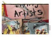 Painted Purses  Carry-all Pouch