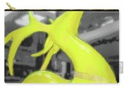 Painted Reindeer Yellow Carry-all Pouch