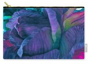 Painted Silk Carry-all Pouch