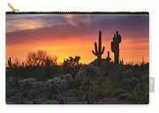 Painted Skies Of The Sonoran Desert Carry-all Pouch