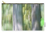 Painted Streaked Trees Carry-all Pouch