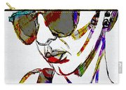 Painted Sunglasses Carry-all Pouch