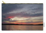 Painted Sunset On Gunflint Lake Carry-all Pouch