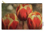 Painted Tulips Carry-all Pouch by Richard Ricci