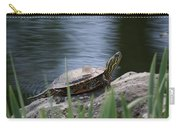 Painted Turtle Carry-all Pouch