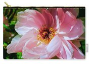 Painted Velvet Petals Carry-all Pouch