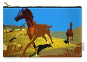 Painted War Horses Carry-all Pouch