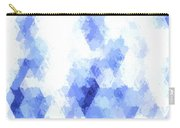 Painterly Geometric Abstract Carry-all Pouch