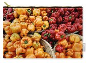Painterly Peppers Carry-all Pouch