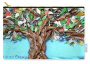 Painters Palette Of Tree Colors Carry-all Pouch