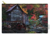 Painting Babcock State Park Glades Creek Grist Mill West Virginia Carry-all Pouch