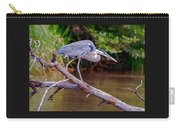 Painting Blue Heron Oak Creek Carry-all Pouch