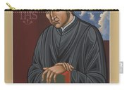 Painting Of Fr Balthasar Gracian Sj 180 Carry-all Pouch