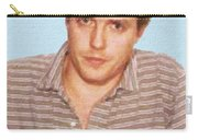 Painting Of Hugh Grant Mug Shot 1995 Black Color Carry-all Pouch