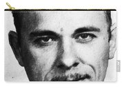 Painting Of John Dillinger Mug Shot Carry-all Pouch