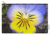 Painting Of Pansey Flower Carry-all Pouch