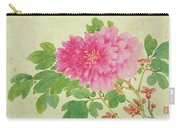Painting Of Peonies Carry-all Pouch