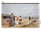 Painting On The Beach  Carry-all Pouch
