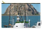 Painting The Trudy S Morro Bay Carry-all Pouch