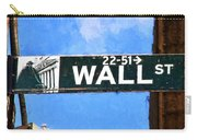 Painting Wall Street Carry-all Pouch