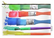 Paints And Brushes  Carry-all Pouch