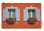 Pair Of Blue Shutters Carry-all Pouch