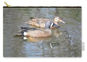 Pair Of Blue Wings Carry-all Pouch
