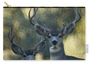 Pair Of Bucks Carry-all Pouch