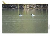 Pair Of Bufflehead Ducks  Carry-all Pouch