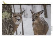 Pair Of Deer Carry-all Pouch