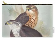 Pair Of Goshawks Carry-all Pouch