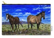 Pair Of Horses Painting Carry-all Pouch