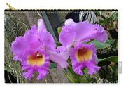 Pretty Purple Orchids Carry-all Pouch