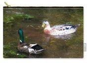 Pair Of Mallard Duck 10 Carry-all Pouch