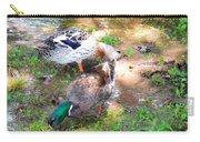 Pair Of Mallard Duck 4 Carry-all Pouch